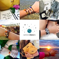 Astronobeads space themed jewelry. Out of this world gift ideas :)