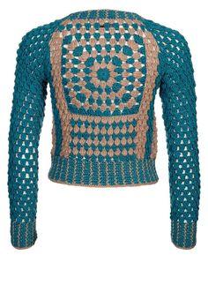 TRICO y CROCHET-madona-mía: Chaqueta y falda para invierno en crochet para exp...