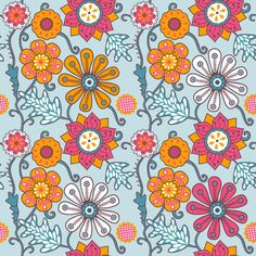 Spring is here!New floral patterns.