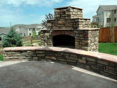 diy outdoor fireplace | How to Build an Outdoor Fireplace : How-To : DIY Network