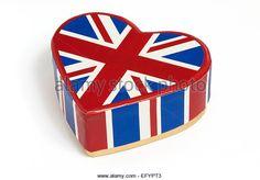 i love britain concept - Stock Image