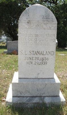 S. L. Stanaland Sr.