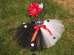 Dalmation Tutu Skirt and Headband