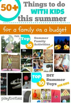50  Things To Do With Kids For a Family On the Budget