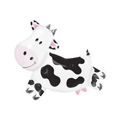 Cow Huge Super Shaped 39 Inch Mylar Balloon  byAmscam  5.0 out of 5 starsSee all reviews(8 customer reviews)   Like (4)  Price:$5.00