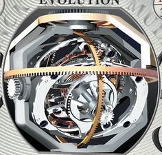 FRANCK MULLER 3 - axis tourbillon
