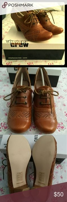 🦃CHELSEA CREW OXFORDS Marilyn Oxfords (**runs small** I normally wear a size 8.5) Chelsea Crew  Shoes Heels