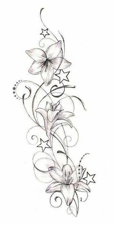 On cold winter days, often only helps a hot soup. Here's the ultimate Tattoo – flower tattoos designs On cold winter days, often only a hot soup helps. Here is the ultimate tattoo Star Tattoos, Body Art Tattoos, Tattoo Drawings, I Tattoo, Sleeve Tattoos, Cool Tattoos, Tatoos, Small Tattoo, Vine Tattoos