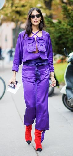 Attico designer Gilda Ambrosio is one of the most copied street style stars  at fashion week b02e5bee761