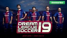 "Dream League Soccer is a most popular football video game Created by ""First touch Games Limited"" Today Sharing Dream League Soccer 2018 - 2019 MOD FC Barcelona Team MOD Apk + Obb DATA Game Dow Pro Evolution Soccer, Fifa World Cup Game, Russia Cup, Football Video Games, Fifa Games, Barcelona Team, Fifa 20, Soccer League, Uefa Champions League"