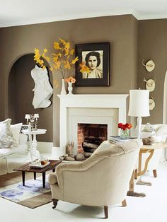 love the neutral color with pops of yellow