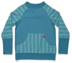 AlbaBaby Game Sweater - Blue stripes Retro Baby Clothes - Baby Boy clothes - Danish Baby Clothes - Smafolk - Toddler clothing - Baby Clothing - Baby clothes Online