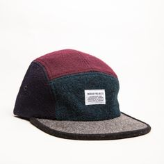 c0c4379f0f93d Norse Projects wool 5-panel