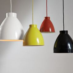 West Elm - Industrial Pendant Lights - love these, where do I hang them in my home?