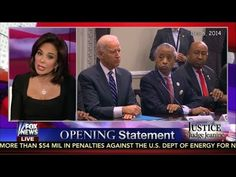 ╰☆╮Judge Jeanine Decries the Racialism of Obama and Holder     12/8/14 TIME  6:45       *.♡♥♡♥Love★it