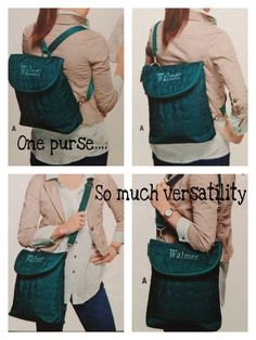 Thirty One Vary You Backpack Purse so versatile!