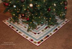 Make an heirloom christmas tree skirt ncborn u born raised and