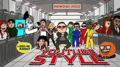 Rewind YouTube Style 2012 omg just realized that felica day is in lol thats funny i wonder if j2 or misha know lol