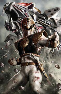 White Ranger by CarlosDattoliArt.deviantart.com on @DeviantArt