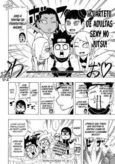 One Shot Boruto Road to B Manga Especial Naruto (Español)
