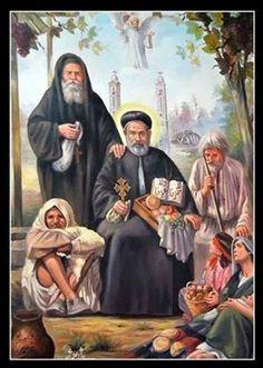 القديس الانبا ابرام اسقف الفيوم والجيزة