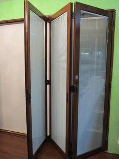 Folding Glass Dividing Door