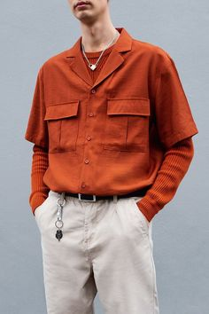 (menswear casual fashion inspired inspiration outfit look men mens spring summer style outfits clothing ideas inspo) Source by Outfits for men Summer Fashion Outfits, Cool Outfits, Casual Outfits, Men Casual, Fashion Spring, Camisa Oversized, Best Casual Shirts, Mode Man, Looks Vintage