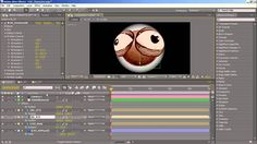 Rigging and Animating a simple 3D head and eyes in after effects using the bundled FreeForm plugin.