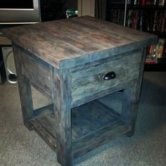 End table with drawer. | Do It Yourself Home Projects from Ana White