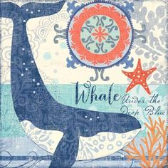 North Shore Whale by Jennifer Brinley | Ruth Levison Design
