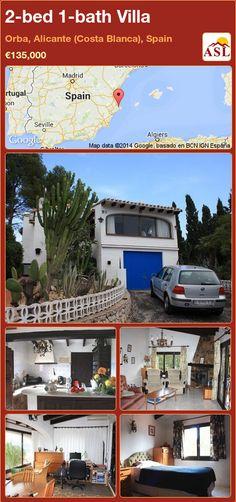 2-bed 1-bath Villa in Orba, Alicante (Costa Blanca), Spain ►€135,000 #PropertyForSaleInSpain