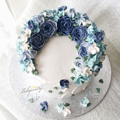 Whimsical Flowers Cake by Febspantry - 006