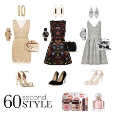 """Insta ready!"" by moonmood ❤ liked on Polyvore featuring Alice + Olivia, Nicole Miller, Luxe, ALDO, Rachel Zoe, Serpui, Dolce&Gabbana, Jimmy Choo, GUESS and Natama Design"