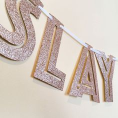 Slay. All. Day. . . . #shophandmade #custombanner #partybanner #partydecor…