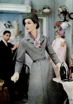1957 fashion suit.