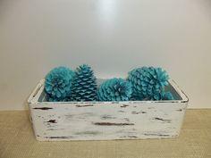 Pinecones Beach Pinecones Painted Pinecones by ShabbySeasonsDecor, $12.00