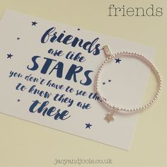 Which friend of yours deserves a little treat?  Shop now >>jacyandjools.co.uk<< #friends #stars #BFF #bestfriends #friendsforlife #sharethelove #jewellery #sterlingsilver #treat #stackingbracelets #Cheshire #madeincheshire #Altrincham #Hale #Chester #Ormskirk #Wlimslow #socialmedia #online #follow #loveitforlife #jacyandjools