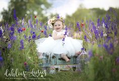 Dallas Family Photographer, wildflowers, vintage suitcase, baby girl, white dress, 8 month old 8 Month Olds, Photographing Kids, Siblings, Family Photographer, Wild Flowers, Baby Kids, Daisy, Parents, Flower Girl Dresses
