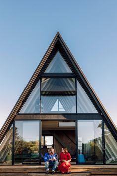 Beautiful A-frame house...