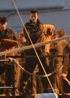 Cillian Murphy and Harry Styles film scenes for Dunkirk in Weymouth Dunkirk Movie, Harry Styles Dunkirk, Love Him, My Love, Mr Style, Love Me Quotes, Words To Describe, 1d And 5sos, Harry Edward Styles
