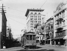 5th & E St., SD CA 1911. My father worked in that building for many years at Metro.