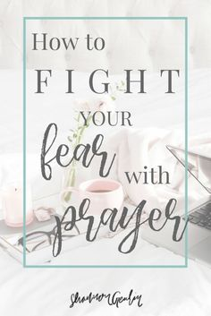 How to fight your fear with prayer. -When worry was my constant companion, I'd remember scripture promises if we pray our anxiety will be replaced by peace. Prayers For Strength, Prayers For Healing, Christian Faith, Christian Living, Christian Women, Christian Quotes, Prayer Quotes, Prayer Prayer, Prayer Board