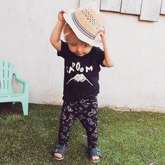 Sproet & Sprout ropa en blanco y negro para bebé y niños pequeños