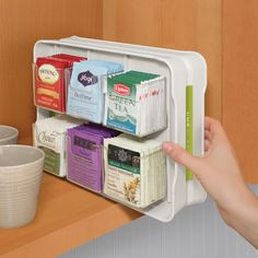 Check Out These Perfect Tea Organizing Ideas Source: Www.harveyjones.com |  Tea Organizers | Pinterest | Ideas, Cupboards And Media Furniture
