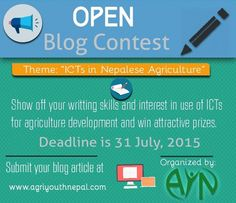 Nlog competition AgriYouthNepal