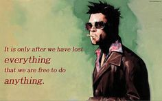 Fight Club. want this in a tattoo!