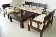 teak sofa set - Google Search