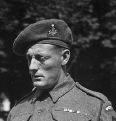 Green Howard Stanley Hollis of Middlesbrough. The only winner of a Victoria Cross on D Day. British Soldier, British Army, History Online, World History, History Magazine, Middlesbrough, D Day, Military History, World War Two