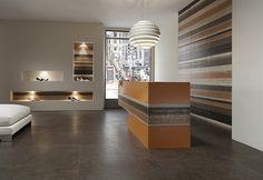 Pavimento/rivestimento in gres porcellanato effetto cemento VELVET GROUND Collezione Velvet Ground by Ceramiche Refin