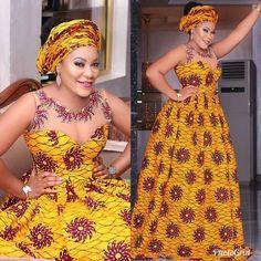 African maxi dress / African print / Ankara dress / African clothing for women / African prom dress / African wedding dress / African dress African American Fashion, African Fashion Ankara, Latest African Fashion Dresses, African Print Fashion, Africa Fashion, African Prints, Dress Fashion, African Attire, African Wear